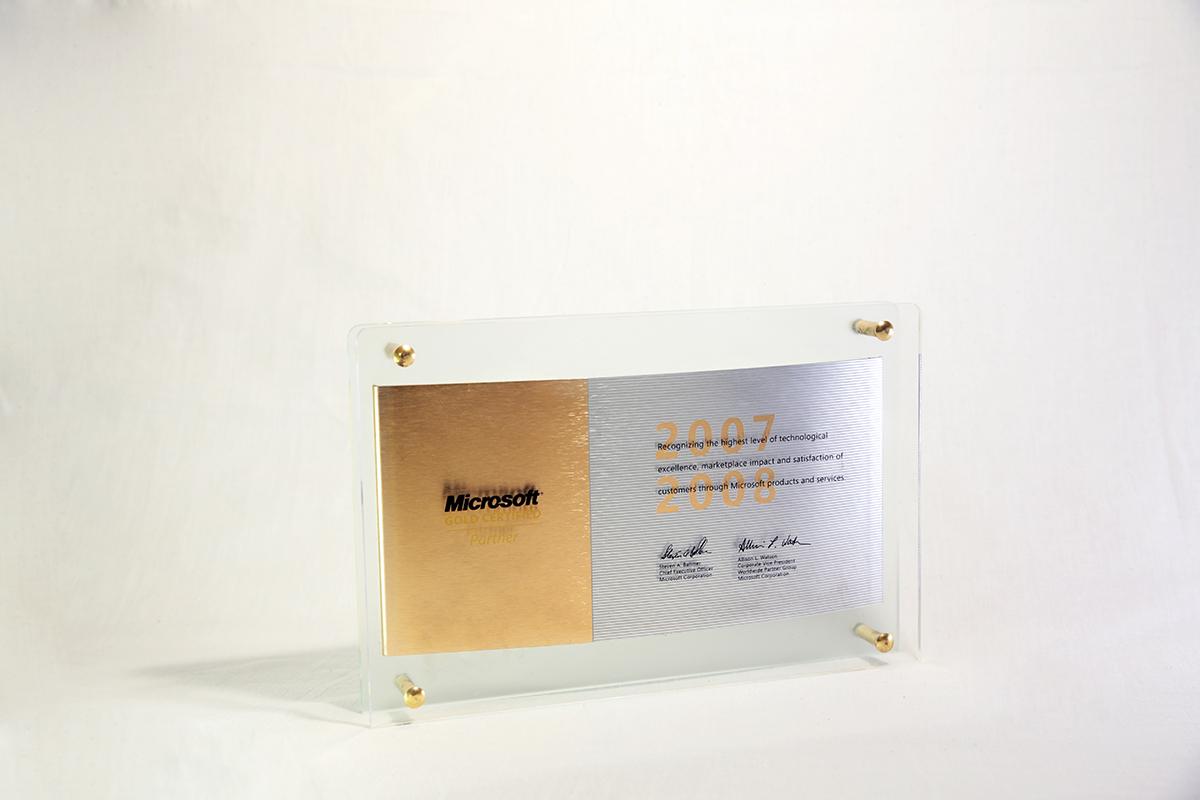 Awards system plus pioneer ltd microsoft gold certified partner 20072008 xflitez Gallery